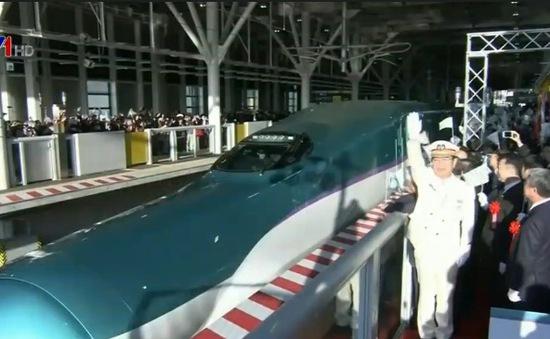 Nhật Bản khai trương đường tàu cao tốc đến đảo Hokkaido