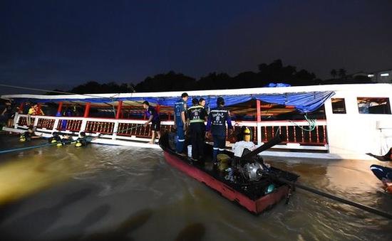 Lật tàu ở Thái Lan: Số người thiệt mạng lên tới 29