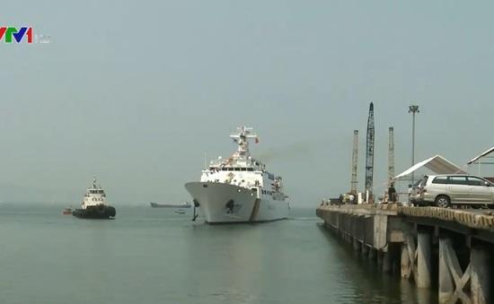 Tàu của lực lượng bảo vệ bờ biển Hàn Quốc thăm Đà Nẵng