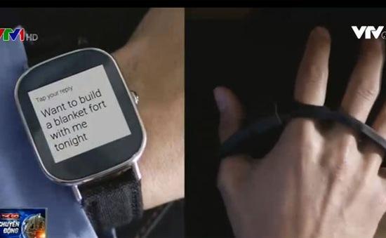 TapStrap - Thiết bị gõ phím đeo tay thông minh
