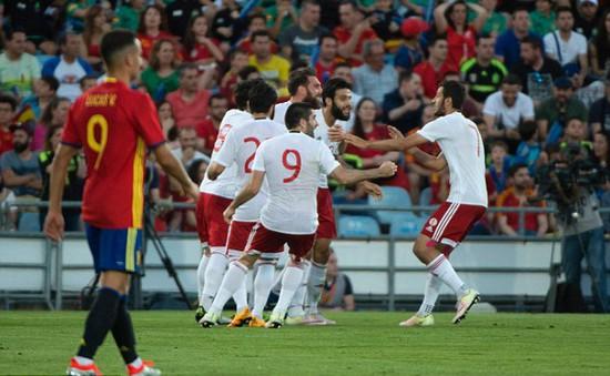 Giao hữu quốc tế: Georgia thắng sốc Tây Ban Nha