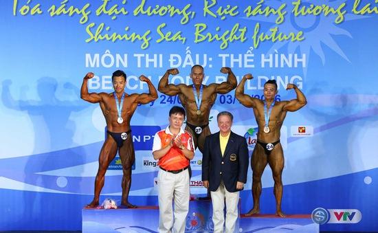 ĐT Thể hình Việt Nam kết thúc ABG5 với 4 HCV