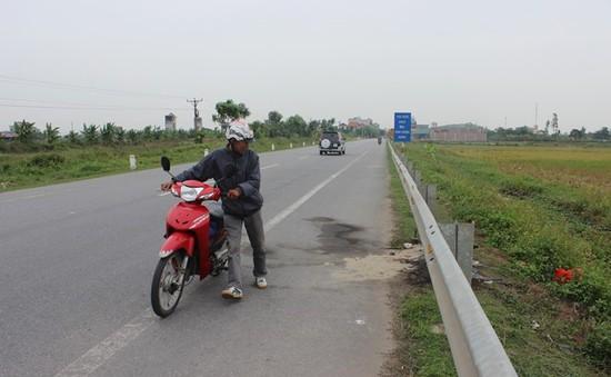 Thái Bình: Vụ người phụ nữ đi xe SH tử vong là TNGT tự gây ra