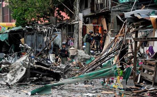 Đánh bom xe tại Thái Lan, 2 người bị thương