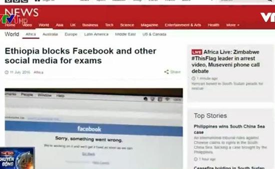 Ethiopia chặn mạng xã hội trước kì thi đại học