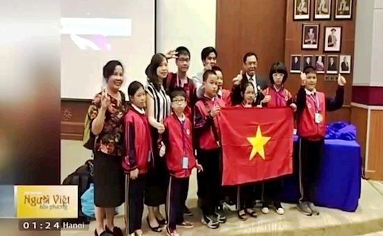 Các kỳ thi Khoa học quốc tế: Việt Nam sánh ngang những nước giàu