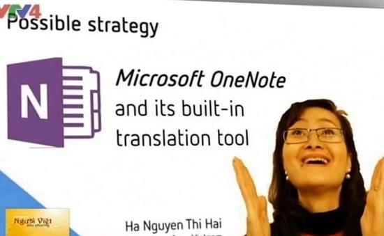 Giáo viên Việt Nam đạt giải cao nhất Diễn đàn Giáo dục toàn cầu Microsoft