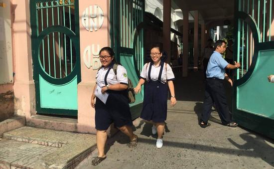 TP.HCM: Gần 400 thí sinh bỏ thi trong ngày đầu thi vào lớp 10