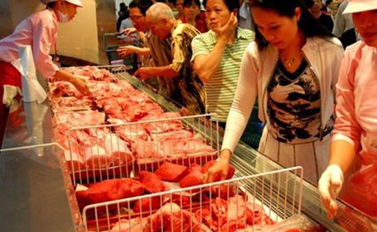 Giá thịt có xu hướng giảm vào cuối kỳ nghỉ Tết