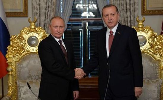 """Nga và Thổ Nhĩ Kỳ ký thỏa thuận dự án khí đốt """"Dòng chảy Thổ Nhĩ Kỳ"""""""