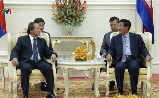Campuchia mong muốn tăng cường hợp tác về TT - TT với Việt Nam