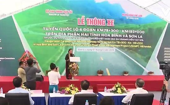 Thông xe quốc lộ 6 đoạn Hòa Bình – Sơn La