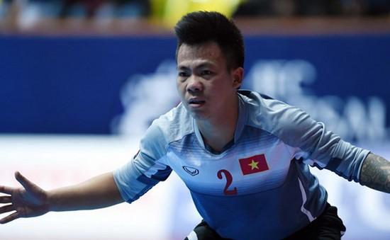 Thủ Môn Văn Huy trình diễn ấn tượng trong trận gặp ĐT futsal Thái Lan