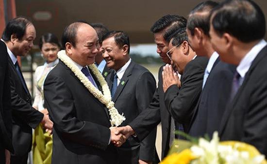 Thủ tướng dự Hội nghị Cấp cao Campuchia - Lào - Việt Nam