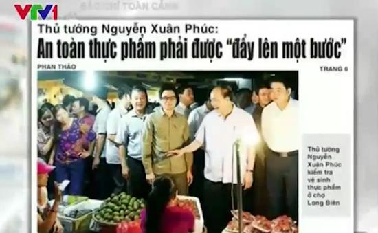 """Thủ tướng """"vi hành"""" chợ Long Biên: Khi Chính phủ tuyên chiến với thực phẩm bẩn"""