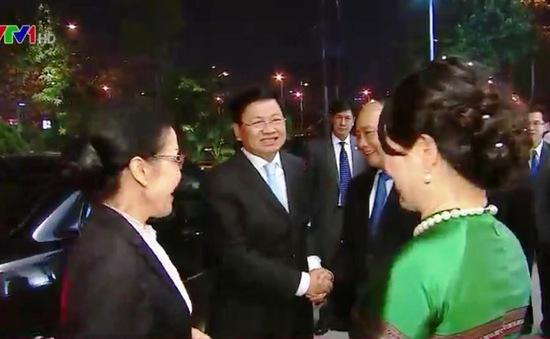 Thủ tướng Lào tham dự các Hội nghị tại Việt Nam