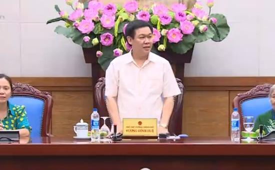 PTTg Vương Đình Huệ gặp mặt đoàn người có công tỉnh Đăk Nông