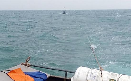 Tàu cá Nghệ An đưa ngư dân gặp nạn vào bờ