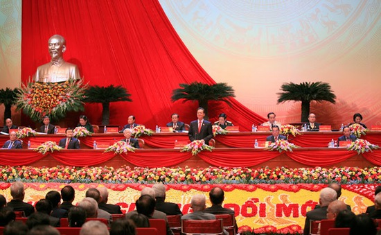 Đại hội XII nhận được nhiều điện mừng từ bạn bè quốc tế