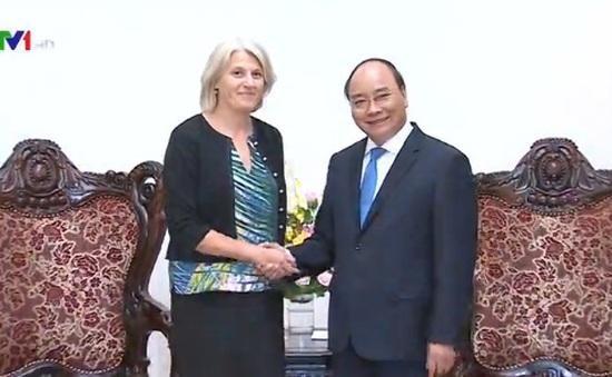 Thủ tướng Nguyễn Xuân Phúc tiếp Đại sứ Đan Mạch