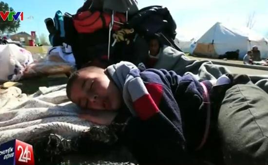 Cuộc sống tồi tệ của nhiều người tị nạn tại Hy Lạp