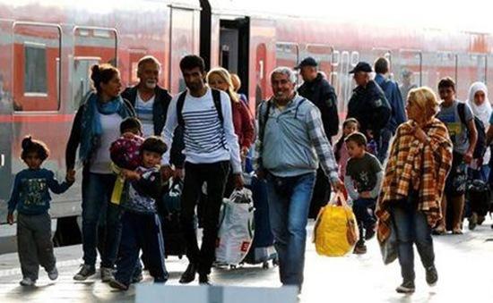 Nước Đức tranh luận về vấn đề tiếp nhận người di cư
