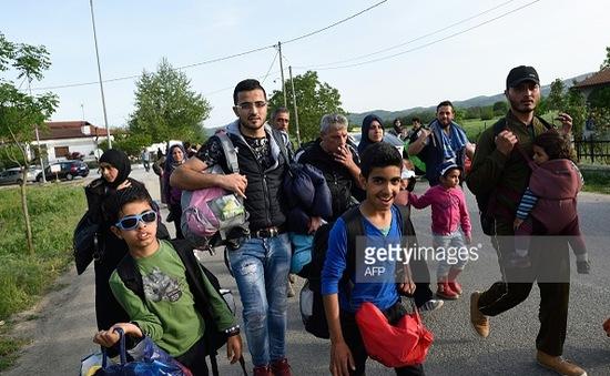 Hy Lạp: Người tị nạn tìm cách rời khỏi EU