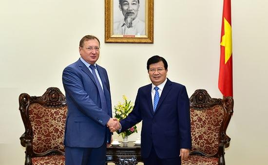 Phát triển hợp tác dầu khí Việt - Nga