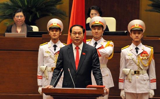 Đại biểu Quốc hội tin tưởng vào tân Chủ tịch nước Trần Đại Quang