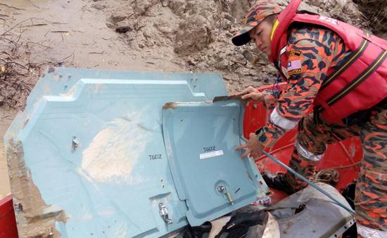 Tìm thấy mảnh vỡ máy bay trực thăng mất tích ở Malaysia
