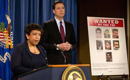 Mỹ buộc tội 7 tin tặc mang quốc tịch Iran