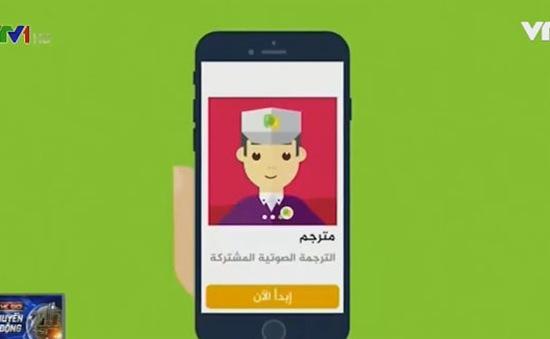 Tar-jem-ly Live - Ứng dụng dịch trực tiếp cho người tị nạn