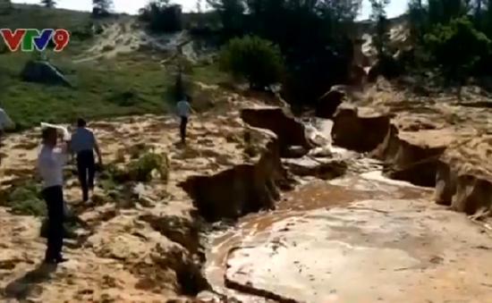 Bình Thuận: Công ty gây tràn bùn thải titan bị phạt 1,1 tỉ đồng