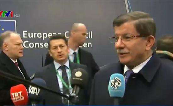 Đàm phán cam go giữa EU và Thổ Nhĩ Kỳ chưa đạt kết quả cuối cùng