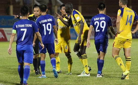 Mất oan bàn thắng, S.Khánh Hòa yêu cầu đá lại trận gặp QNK Quảng Nam