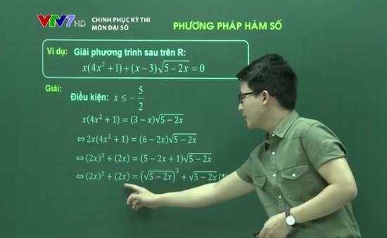 Ôn tập môn Toán: Phương pháp hàm số