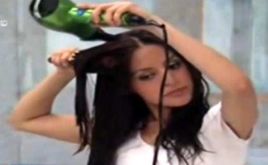 Không dùng máy sấy tóc để... tiết kiệm năng lượng