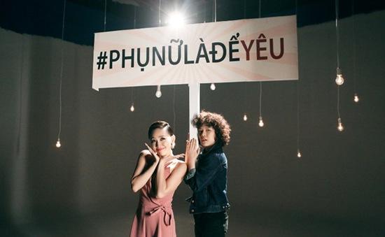 Hai cô Tiên của showbiz Việt nhắng nhít trong MV mới