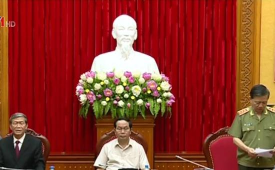 Đồng chí Tô Lâm giữ chức Bí thư Đảng ủy Công an Trung ương