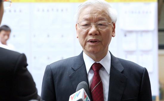 TBT Nguyễn Phú Trọng kỳ vọng các đại biểu hết lòng vì nước, vì dân