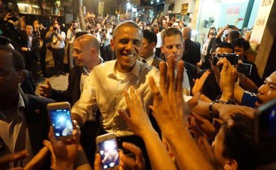 Tổng thống Barack Obama ấn tượng với ẩm thực Việt Nam