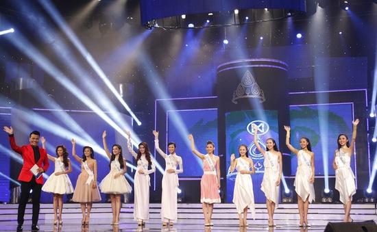 Hoa khôi áo dài Việt Nam: Xác định Top 10 vào chung kết