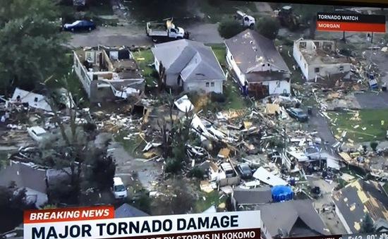 Mỹ: Lốc xoáy hoành hành tại bang Indiana