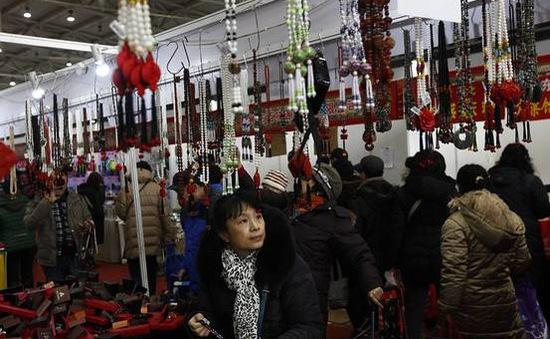 Bán lẻ dịp Tết Nguyên đán tại Trung Quốc tăng hơn 11%