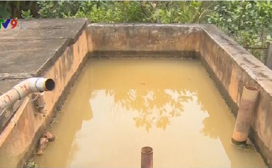 Cuối năm 2016, 11/24 trạm cấp nước bỏ hoang tại Hậu Giang sẽ sửa xong
