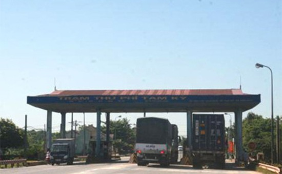 Sắp giảm giá vé trạm thu phí Tam Kỳ