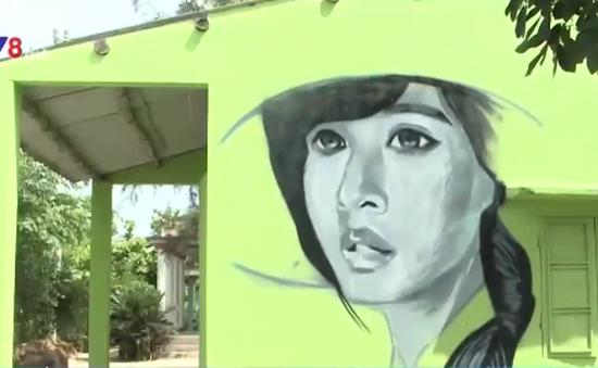 Độc đáo làng tranh đầu tiên ở Việt Nam