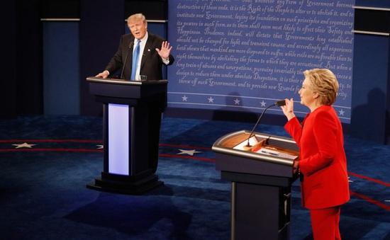 Tranh luận hai ứng viên Tổng thống Mỹ: Ai thắng ai thua?