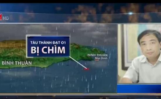 2 thuyền viên mất tích tại Vũng Tàu: Công tác tìm kiếm gặp khó khăn do thời tiết