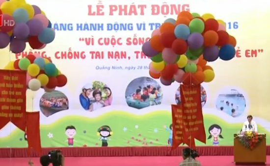Quảng Ninh phát động Tháng hành động vì trẻ em